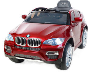 Beneo Electric Ride-On Car BMW X6 Red Paint