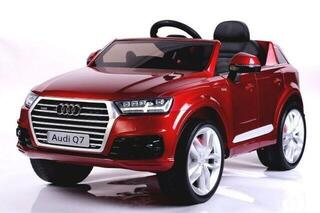 Beneo Electric Ride-On Car Audi Q7 Quattro Red Paint