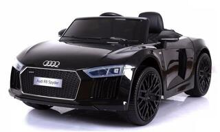 Beneo Electric Ride-On Car Audi R8 Spyder Black