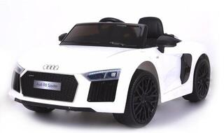 Beneo Electric Ride-On Car Audi R8 Spyder White (B-Stock) #925811