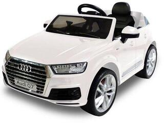 Beneo Electric Ride-On Car Audi Q7 Quattro White (B-Stock) #924582