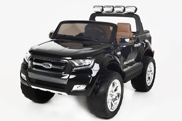 Beneo Electric Ride-On Toy Car Ford Ranger Wildtrak 4X4 Black Paint