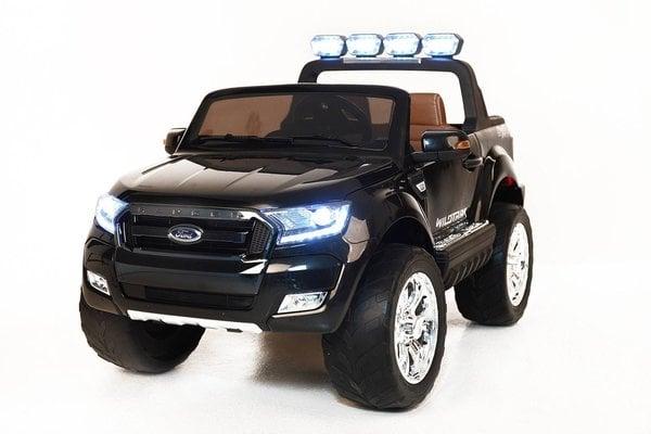 Beneo Electric Ride-On Toy Car Ford Ranger Wildtrak 4X4 Black