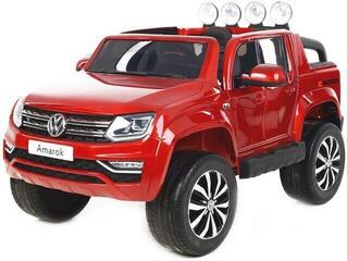 Beneo Electric Ride-On Toy Car Volkswagen Amarok Red Paint