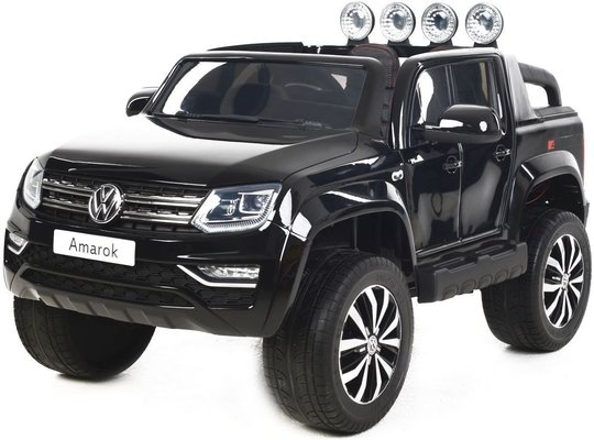 Beneo Electric Ride-On Toy Car Volkswagen Amarok Black