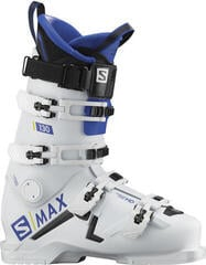 Salomon S/MAX Ski Boots 130/White/Race Blue/Black