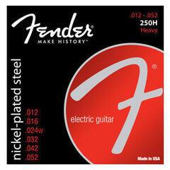 Fender 250H Nickel-Plated Steel Heavy 12-52