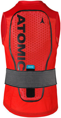 Atomic Live Shield Vest Amid M Red M