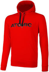 Atomic Alps Hoodie Bright Red L
