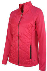 Callaway Quilted Womens Jacket Magenta