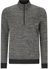 Callaway Heathered 1/4 Zip Mens Sweater Castlerock