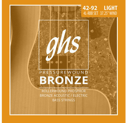 GHS Pressurewound Bronze Bass Light 42-92