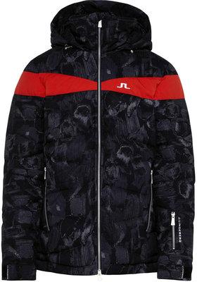 J.Lindeberg Crillon Down Jacket JL 2L Print Black Sports Camo L