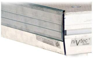 Nivtec 407 20 0 Aluminium Lining Lath for Direct Attachment 100 cm