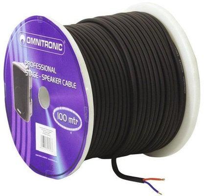 Omnitronic Speaker Cable 2x1.5qmm Black