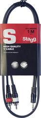 Stagg SYC1/MPS2CM E 100 cm Audió kábel