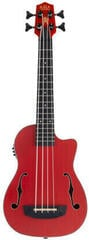 Kala U-Bass Journeyman Fretted Matte Red