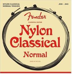 Fender Nylon Acoustic Strings 130 Clear/Silver