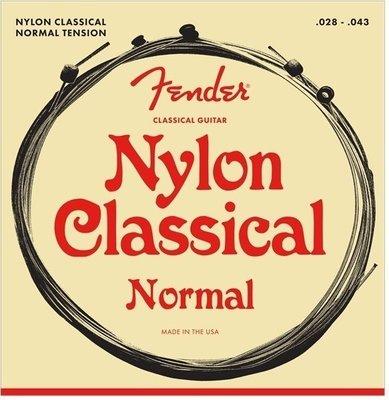 Fender Nylon Acoustic Strings 130 Clear/Silver