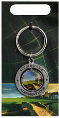 Longridge St Andrews Double Sided Golfers's Key Ring