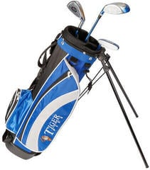 Longridge Junior Tiger Set 4-7 Years 3Clubs Black/Blue Right Hand
