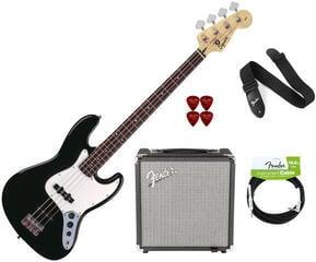 Fender Squier Affinity Jazz Bass Black RW Pack