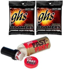 GHS Fast Fret String Cleaner Care Set 2