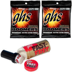 GHS Fast Fret String Cleaner Care Set 4