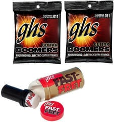 GHS Fast Fret String Cleaner Care Set 5