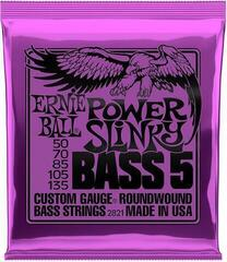 Ernie Ball 2821 Power Slinky 5-string Bass Nickel 050-135