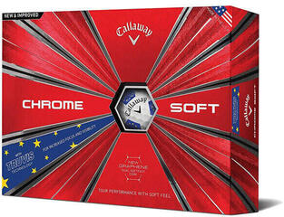Callaway Chrome Soft 18 Truvis Balls Gold/Star