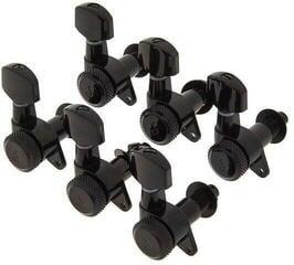 Schaller M6 135 Locking 6L Black Chrome
