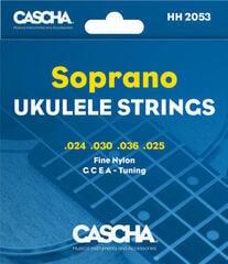 Cascha Premium Soprano Ukulele Strings Set