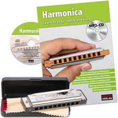 Cascha Special Blues Harmonica Set
