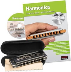 Cascha Master Edition Blues Harmonica Set