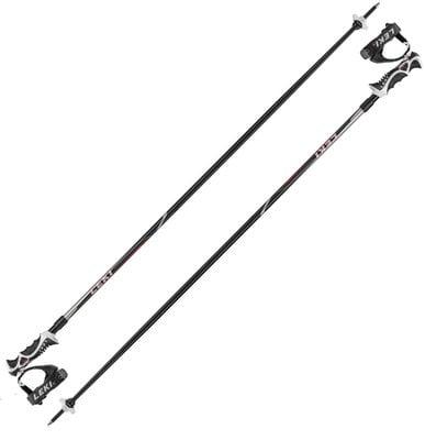 Leki Hot Shot S Ski Poles Black/Red/Silver/Anthracite 130 19/20