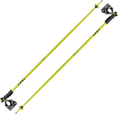 Leki Spitfire S Ski Poles Neon Yellow 130 19/20