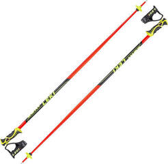 Leki Worldcup Racing SL Neonred/Black/White/Yellow
