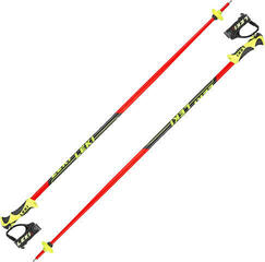 Leki Worldcup Lite SL Neonred/Black/White/Yellow