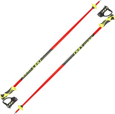 Leki Worldcup Lite SL Ski Poles Neonred/Black/White/Yellow 120 19/20