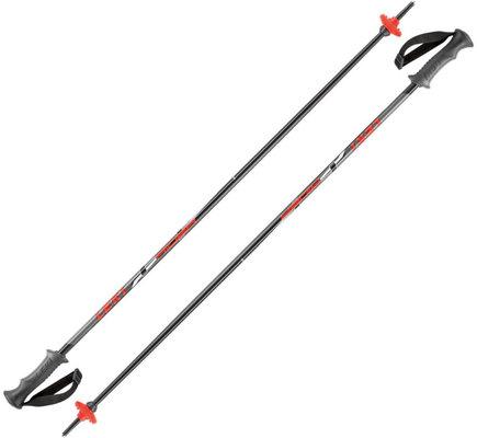 Leki Rider Ski Poles Black/Red/White/Anthracite 90 17/18