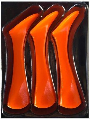 Headbanger Lures Shad 16 Replacement tails Fluo Orange