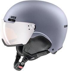 UVEX Hlmt 500 Visor Ski Helmet Strato Met Mat