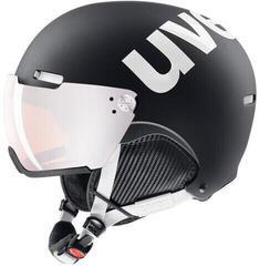 UVEX Hlmt 500 Visor Black-White Mat 55-59 cm 20/21