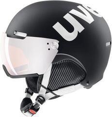 UVEX Hlmt 500 Visor Black-White Mat 59-62 cm 20/21