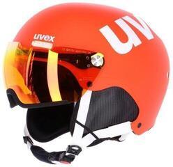 UVEX Hlmt 500 Visor Orange Mat 52-55 cm 17/18