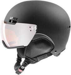 UVEX Hlmt 500 Visor Black Mat 55-59 cm 17/18