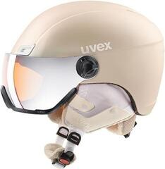 UVEX Hlmt 400 Visor Style Prosecco Met Mat 53-58 cm 18/19 (B-Stock) #922050