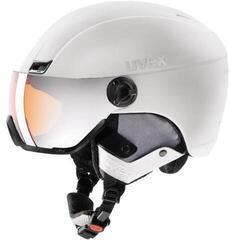 UVEX Hlmt 400 Visor Style White Mat 53-58 cm 17/18