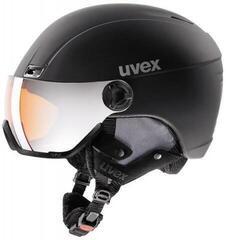 UVEX Hlmt 400 Visor Style Black Mat 53-58 cm 20/21